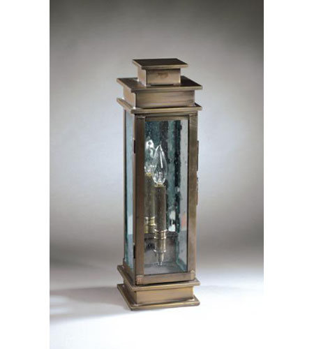 Northeast Lantern Empire 1 Light Outdoor Wall Lantern in Dark Antique Brass 8931-DAB-LT1-CSG-AM photo